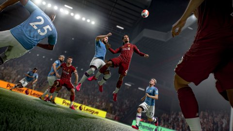 FIFA 21 dominates the weekly ranking in the UK, but Cyberpunk 2077 goes back