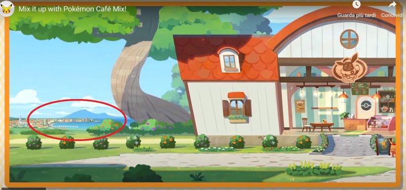 Pokémon Café Mix, il golfo di Napoli avvistato nel trailer - Multiplayer.it