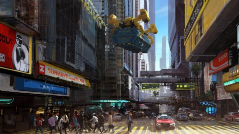 Cyberpunk 2077: the campaign on its numbers has become a boomerang on social networks