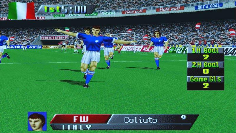 4 International Superstar Soccer 64