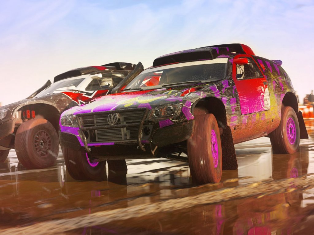 DiRT 5, new gameplay video with a Rally Raid in China