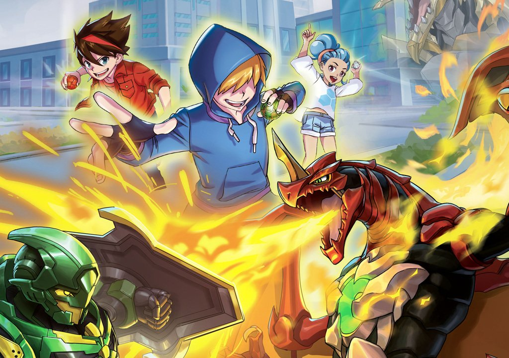 Bakugan: Champions of Vestroia, the preview