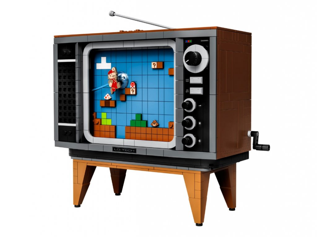 LEGO Nintendo Entertainment System: the console hides a bright easter egg