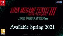Shin Megami Tensei III Nocturne HD Remaster - Trailer di annuncio