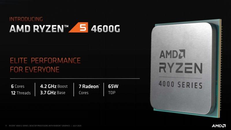 Amd Ryzen 7 4600G Specifiche Z46Jzt0