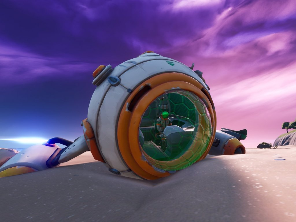 Fortnite, spaceship challenge: how to repair and start it