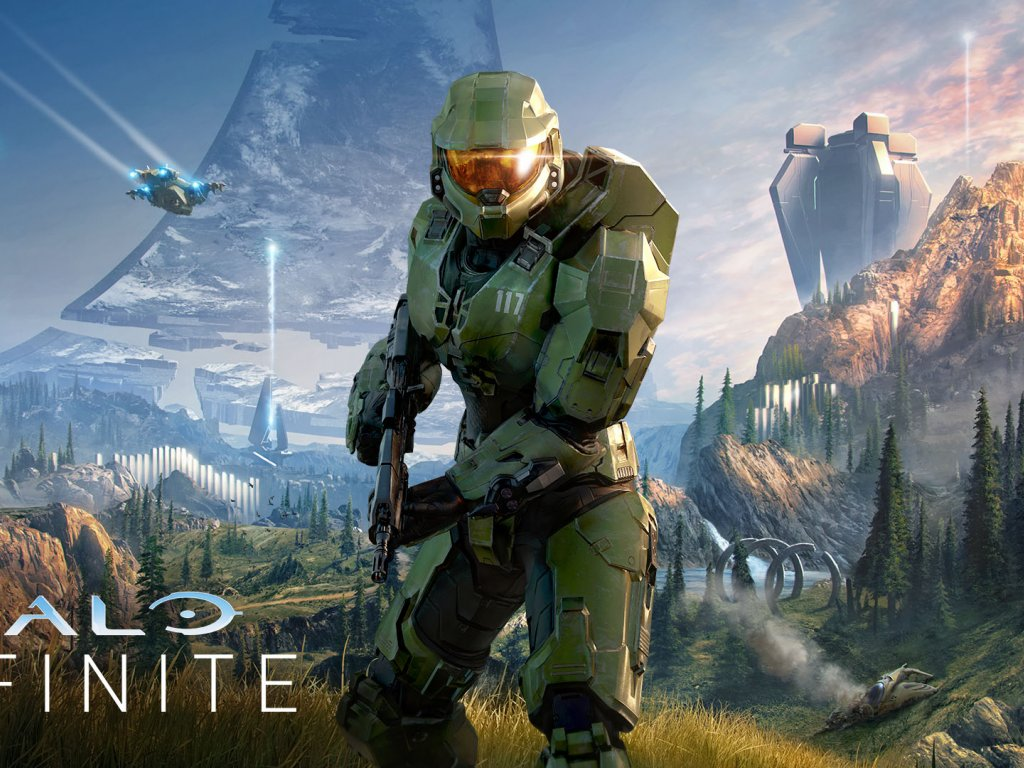 Halo Infinite, new illustration with the official key art
