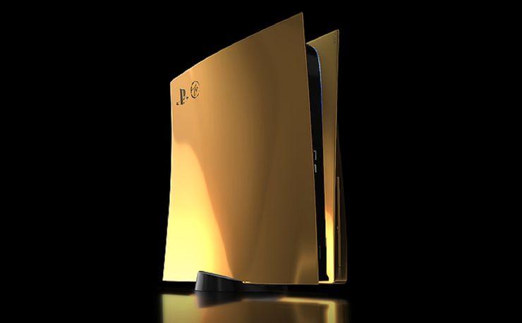 PS5, the 24-karat gold version of thousands of euros arrives