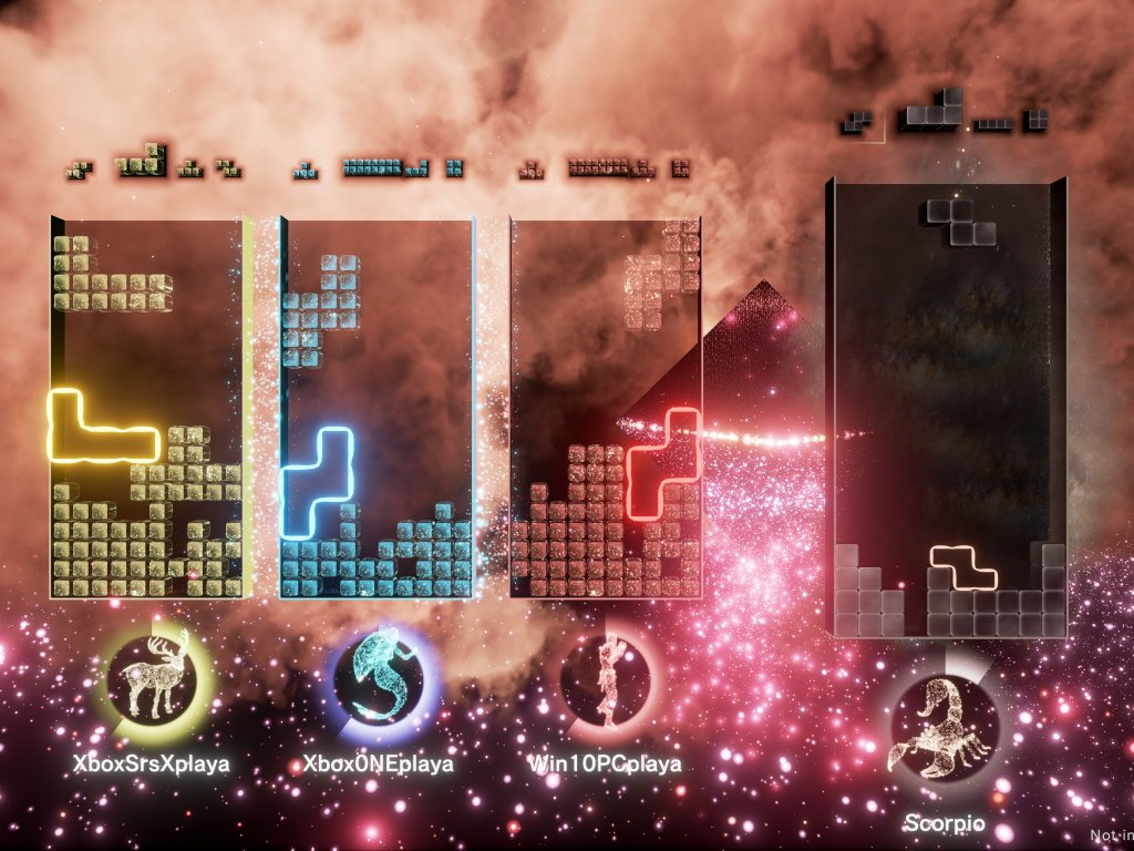 Tetris Effect: Connected, the tried and tested for Xbox Series X