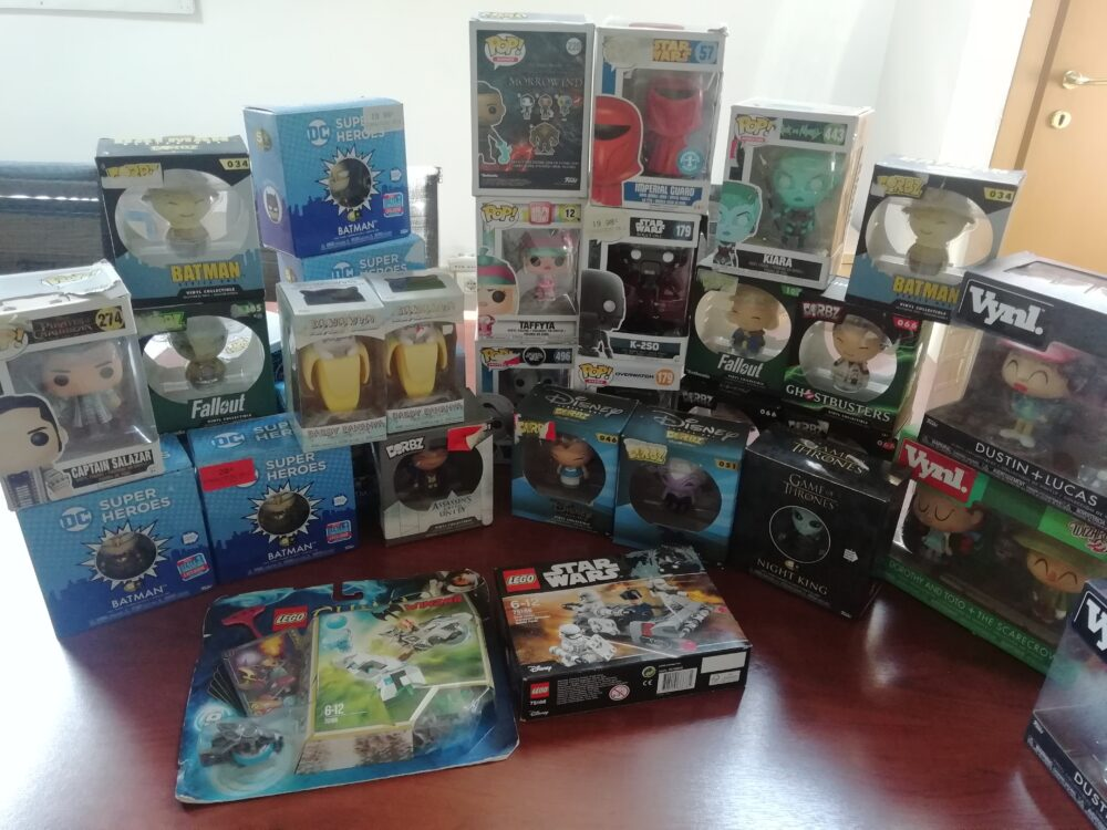 GameStopZing has donated so much material to charity to AIAS in Milan
