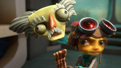 Psychonauts 2, gameplay and story in video explained by Tim Schafer