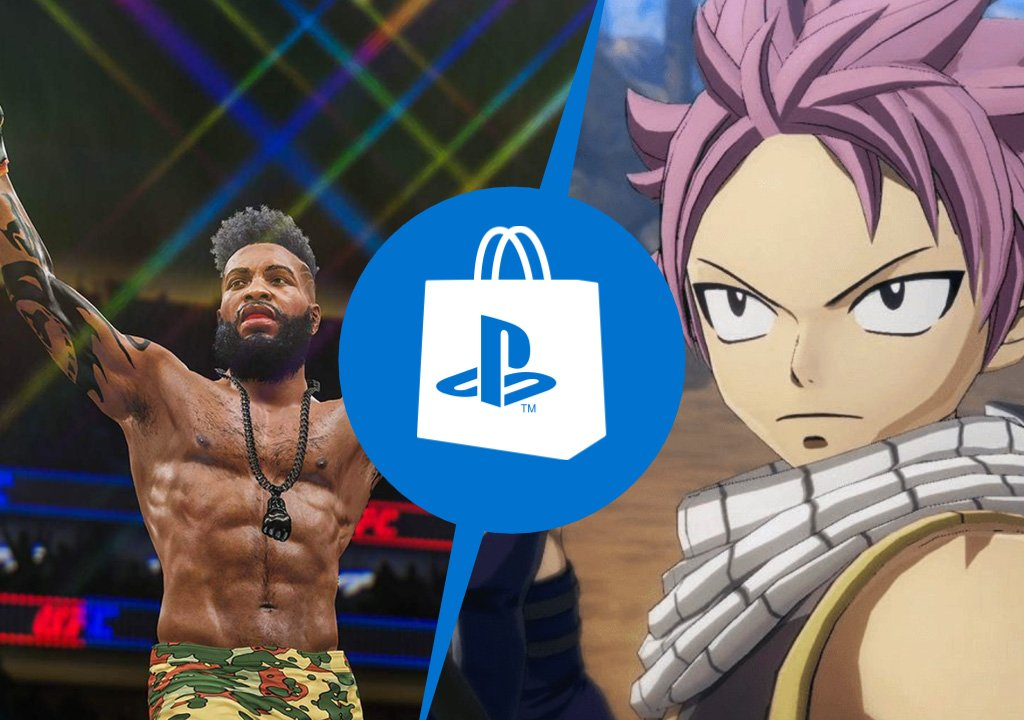 PlayStation Store: EA Sports UFC 4 and Fairy Tail