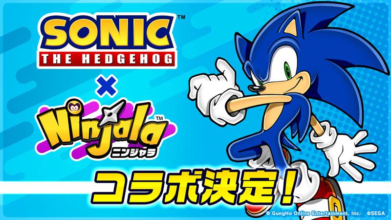 Ninjala Meets Sonic the Hedgehog: Collaboration Coming to Season 2