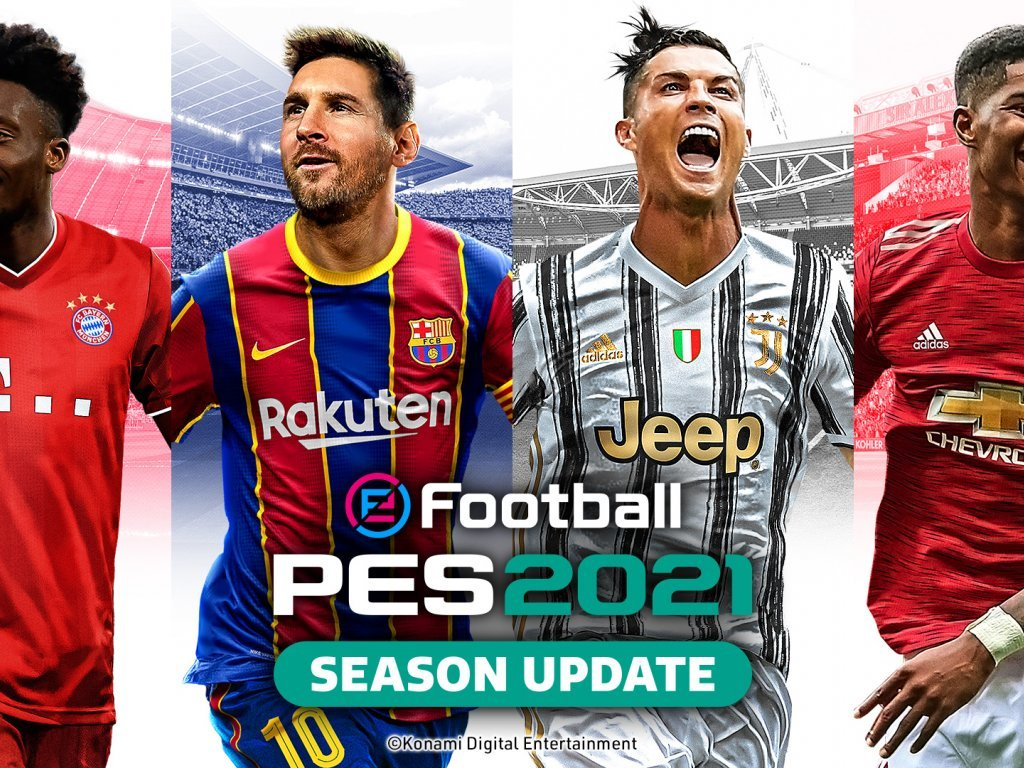 UEFA eEURO 2021, PES 2021 Season Update is the official game of the competition