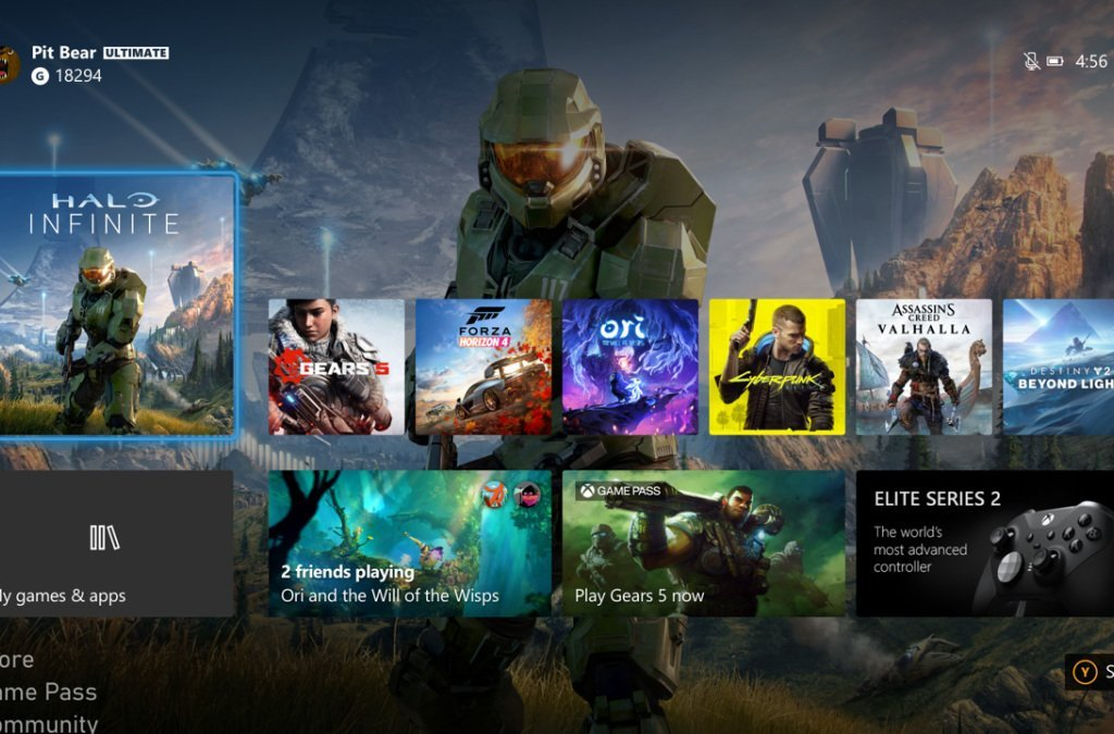 Xbox Series X: The interface is 1080p, for the moment