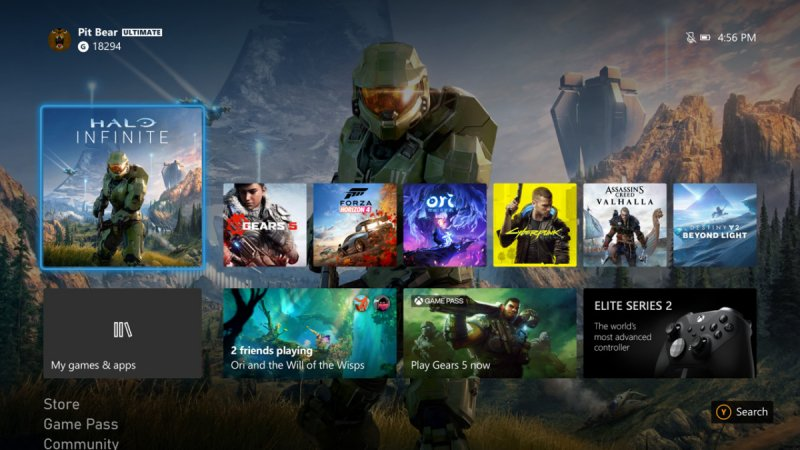 Xboxseriesxux Hero