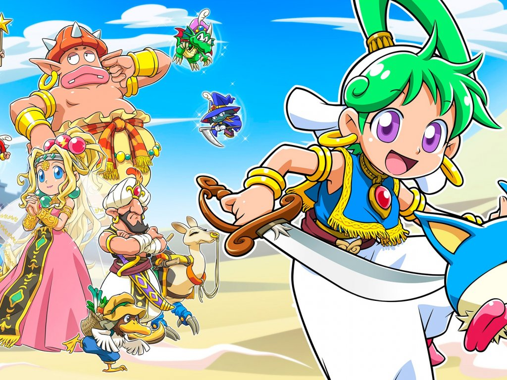 Wonder Boy: Asha in Monster World, the first official trailer features the return of a classic