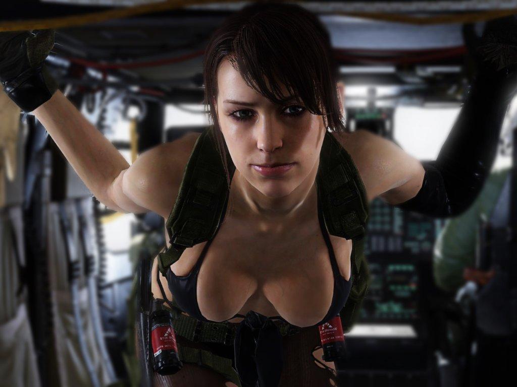 Metal Gear Solid: Hana Bunny's Quiet cosplay is a scream