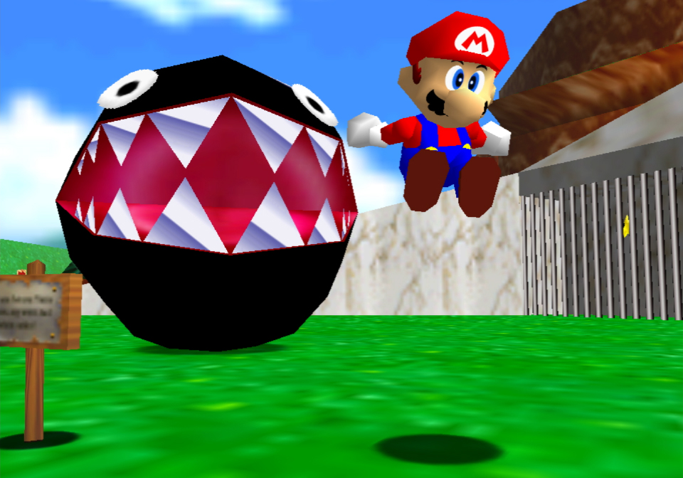 Super Mario 3D All-Stars: A video compares the Switch and N64 versions of Super Mario 64