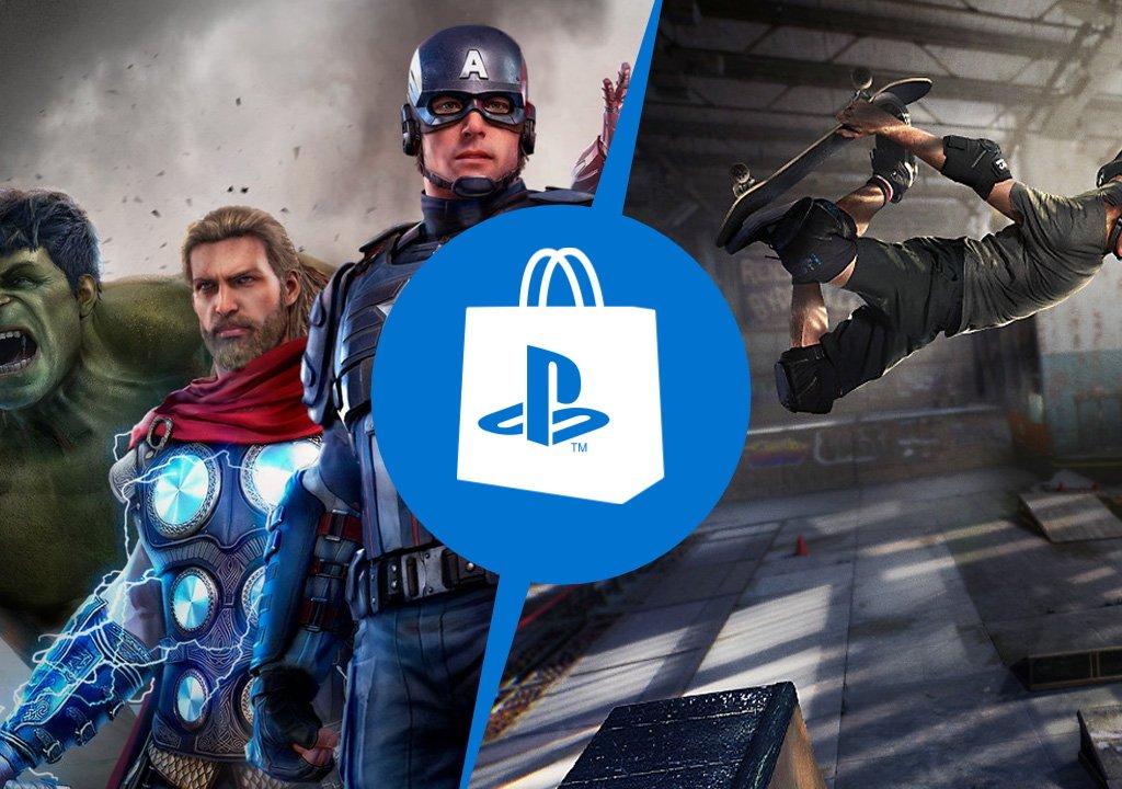 PlayStation Store: Marvel's Avengers and Tony Hawk