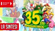 Nintendo Direct 35° anniversario Super Mario: tutti gli annunci