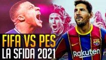 FIFA 21 VS PES 2021: parte la sfida!