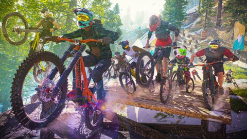 Riders Republic: 50 players only on PS5 and Xbox Series X | S, on old-gen there will be fewer
