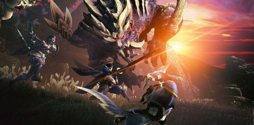Monster Hunter Rise: The Great Sword is shown in this gameplay trailer on Switch