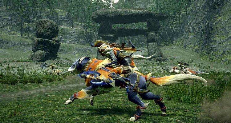 Monster Hunter Rise, scontro con un Khez …
