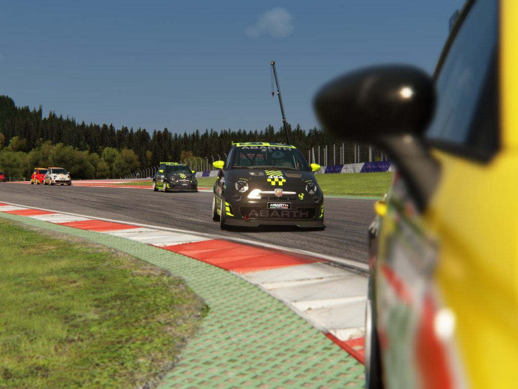 Abarth Virtual Racing League: tonight we are racing for the last places for the final