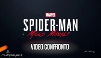 Marvel's Spider-man Ps5 Miles Morales - Video Confronto