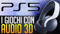 PS5: ecco i primi giochi compatibili con l'Audio 3D