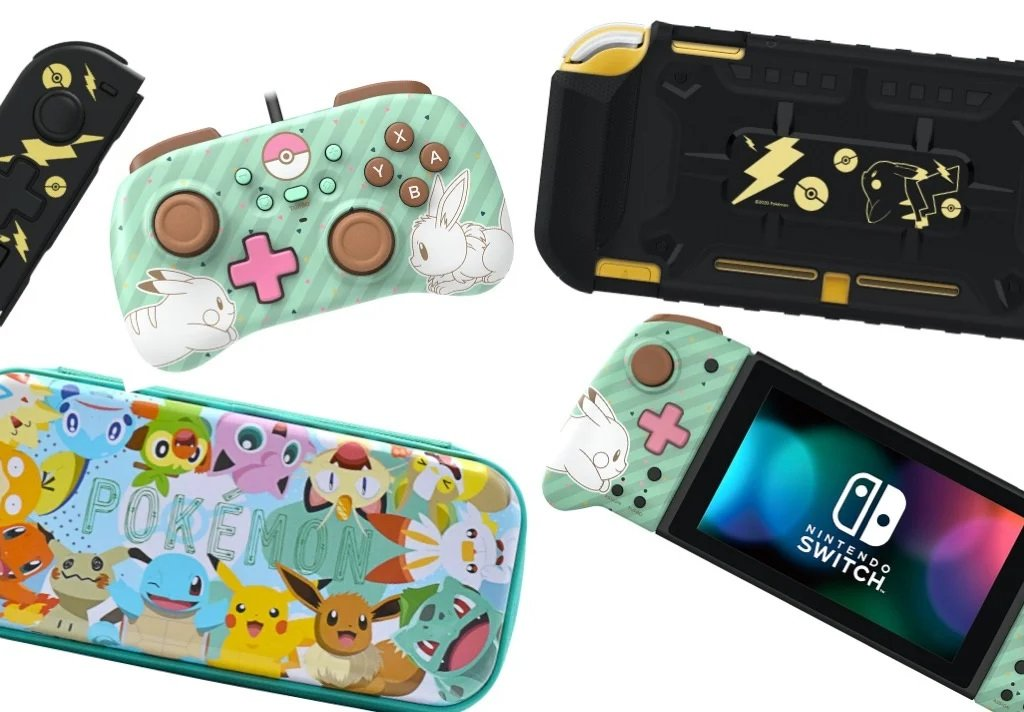 Pokémon: many new accessories and Hori controllers coming to Nintendo Switch