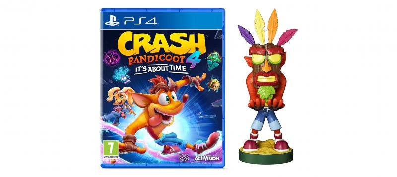 Crash Bandicoot 4  Its About Time Crash Aku Aku Cable Guy