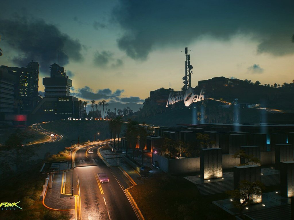Cyberpunk 2077, new spectacular images from CD Projekt RED