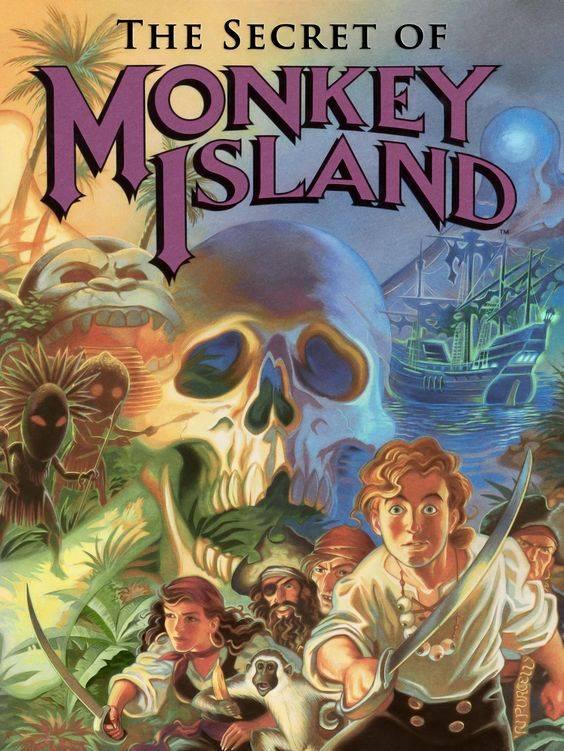The Secret Of Monkey Island 01