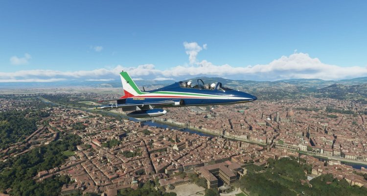 Microsoft Flight Simulator: le Frecce Tr …