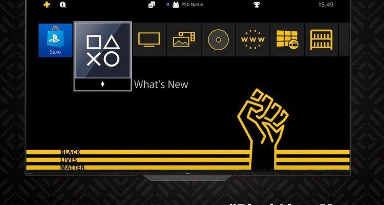 PS4, Black Lives Matter Theme disponibil …