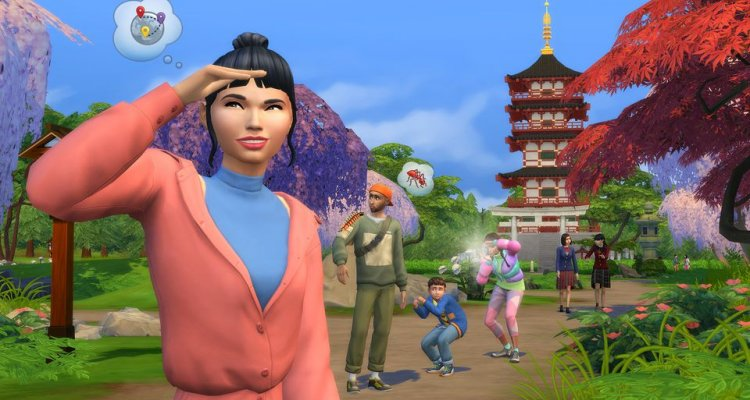 The Sims 4 Oasi Innevata: data d'u …