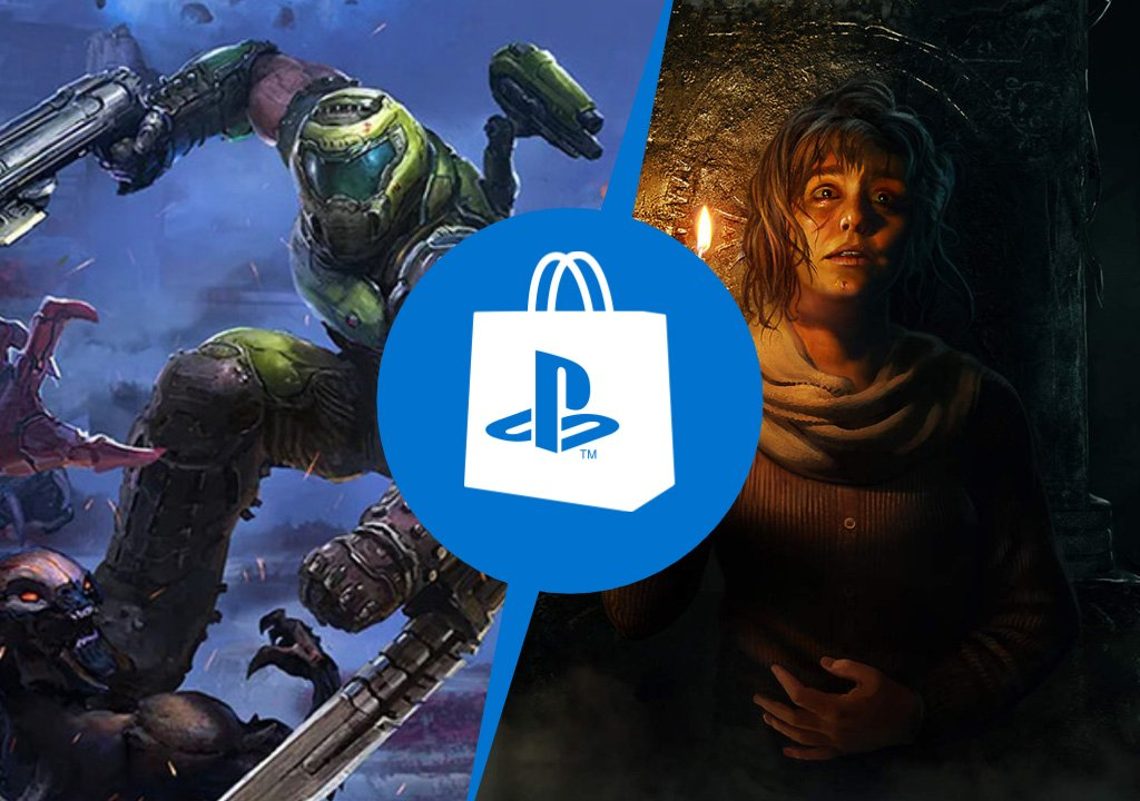 PlayStation Store: DOOM Eternal: The Ancient Gods and Amniesia: Rebirth
