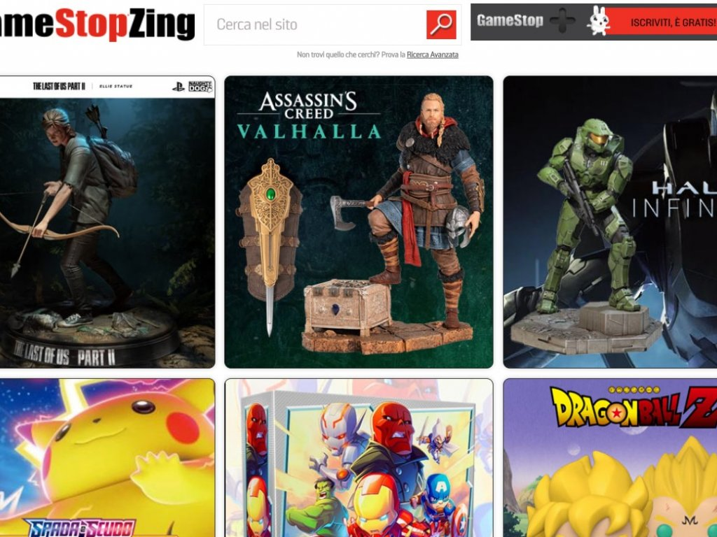 GameStopZing: Halo Infinite, Dragon Ball or Nerf Fortnite statues are coming