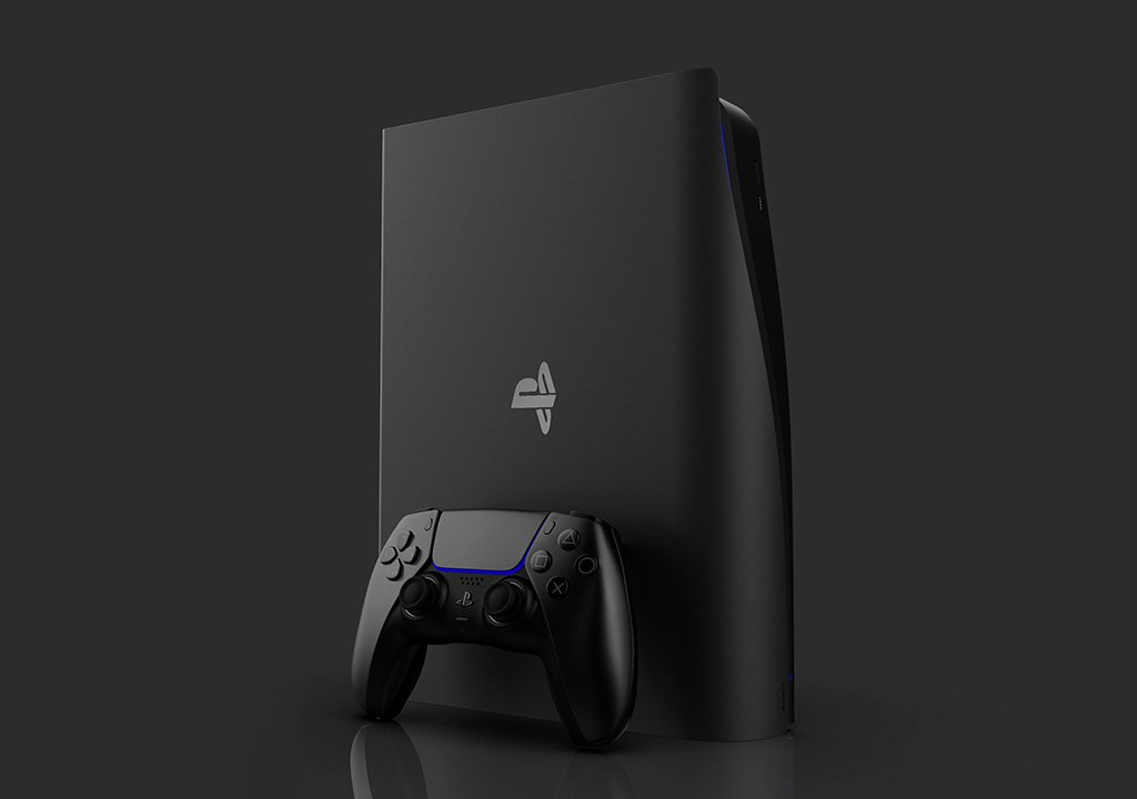 PS5 Slim, the Sony console in a compact version imagined by a Dutch artist