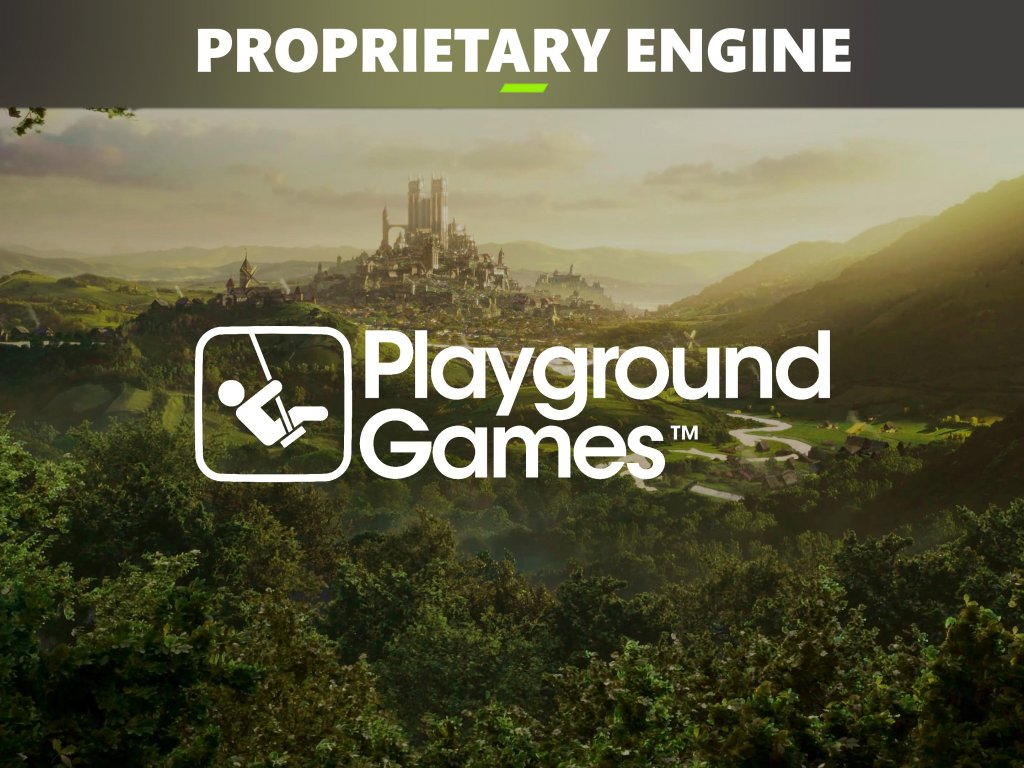 Fable: Playground Games will use a proprietary graphics engine for its games