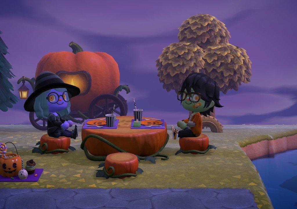 Animal Crossing: New Horizons, the Halloween event
