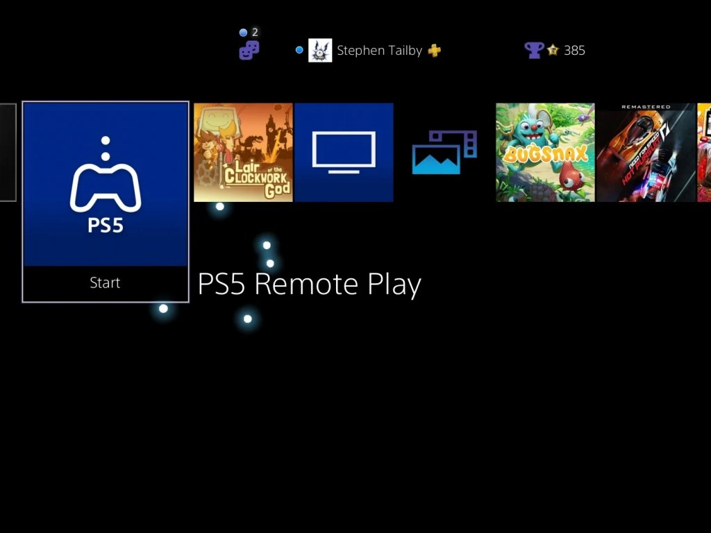 PS5: Remote Play App is available on PlayStation 4