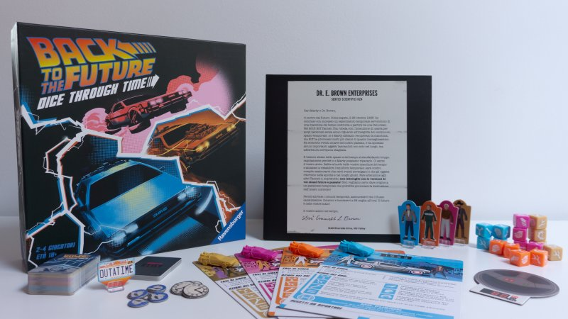 Back To The Future Dice Through Time Completo