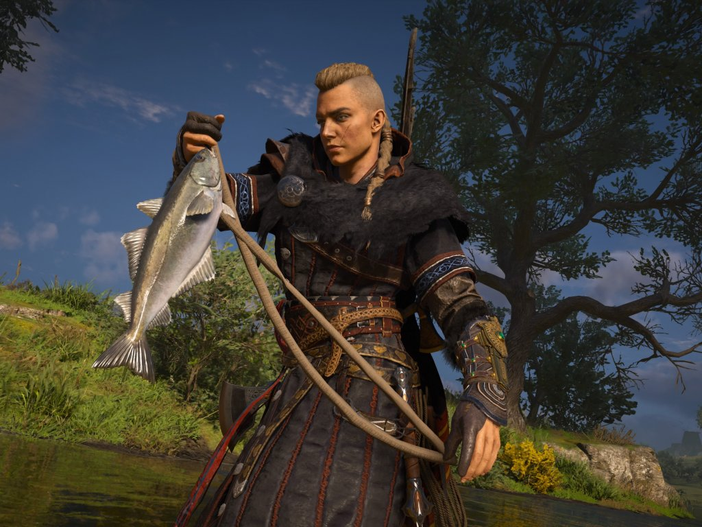 Assassin's Creed Valhalla, fishing guide