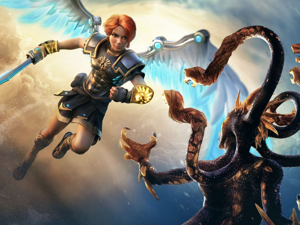 Immortals Fenyx Rising: irreverent love for Greek mythology and its themes