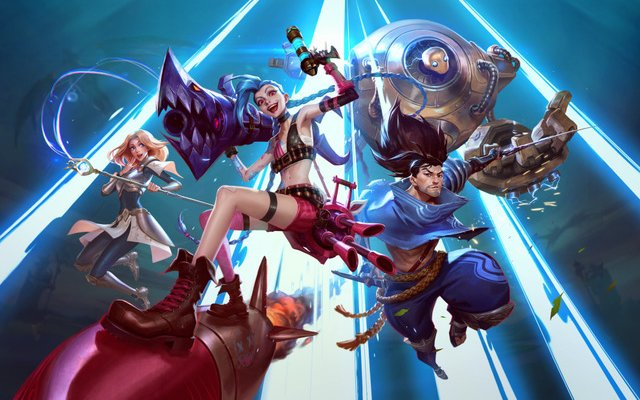 League of Legends: il cosplay di Jinx di …