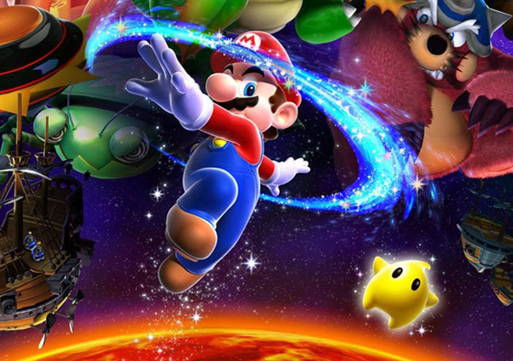 Super Mario 35: from 3D to space